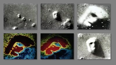 火星の人面石についての映画です。